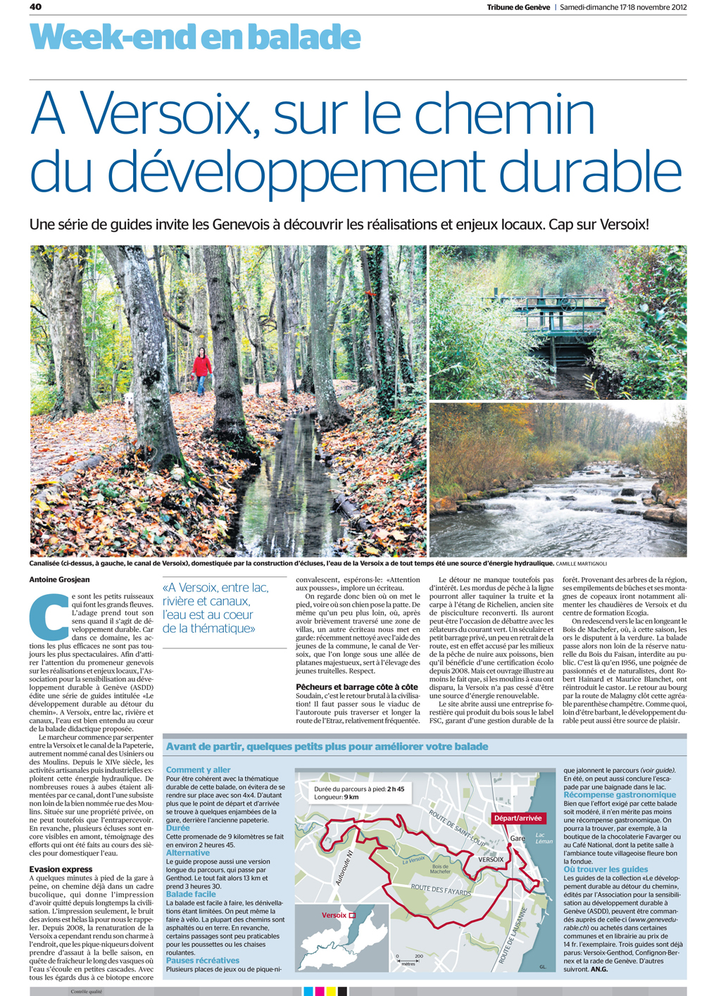 Article du guide Versoix-Genthod